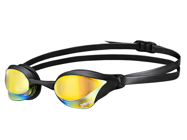 arena Cobra Core Mirror Goggles yellow revo-black